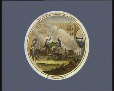 Prise de Spire par le général Custine le 3 octobre 1792 : [estampe]