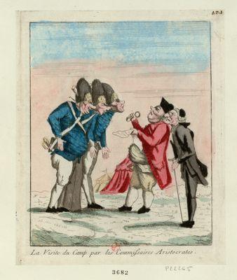 La  Visite du camp par les commissaires aristocrates [estampe]