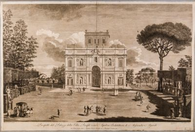 Villa Pamphili. Casino