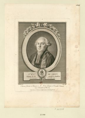 F.nd D.is c.te de Crecy député de la sénéch.ée de Ponthieu, né à Besançon le 6 juillet 1744 : [estampe]