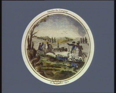 Retraite de Longwy le 22 octobre 1792 : [estampe]