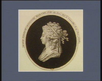 Marie Therese Charlotte Madame, fille du Roi, né à Versailles le 19 dec 1778 [estampe]