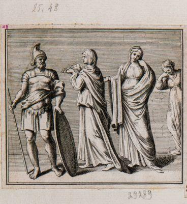 Il Coriolano con altre pitture della precedente volta nelle Terme di Tito