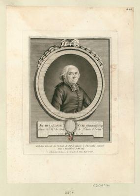 Jac. de La Lande cure d'Illiers l'Evêque sindic de Mrs les curés du diocèse d'Evreux, né le 6 mars 1733 : [estampe]