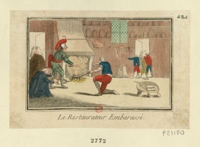 <em>Le</em>  Restaurateur embarassé [estampe]