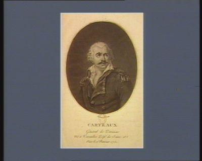 Carteaux général de division né <em>à</em> Versailles dép.t de Seine et Oise le 1.er janvier 1751 : [estampe]