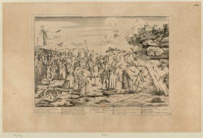 La  Contre révolution ne seroit elle qu'une caricature 1. deux aveugles guide de l'armée 2. le petit Condé reconnaissant le fort... : [estampe]