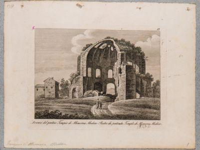 Avanzi del preteso tempio di Minerva Medica