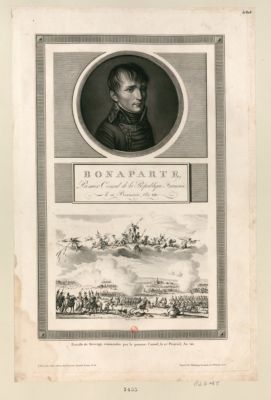 Bonaparte, premier Consul de la Republique française, le 18 brumaire an VIII [estampe]
