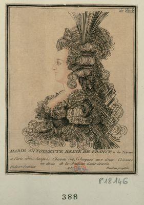 Marie Antoinette reine de France et de Navarre [estampe]