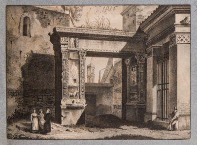 Arco degli Argentari, veduta d'insieme