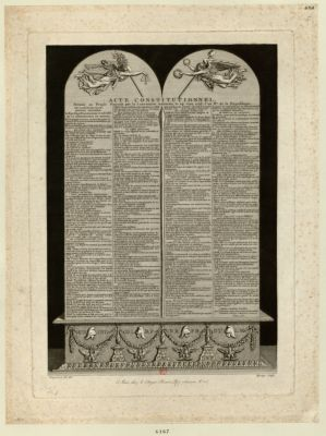 <em>Acte</em> <em>constitutionnel</em> [estampe]