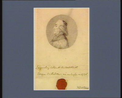 Seignelay Colbert de Castelhill évèque de Rodez né en Ecosse en 1736 : [dessin]