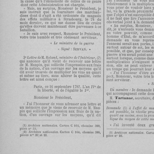 Archives Numeriques De La Revolution Francaise Tome 50 Du 15 Au