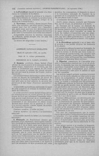 Tome 50 : Du 15 au 21 septembre 1792 - page 106