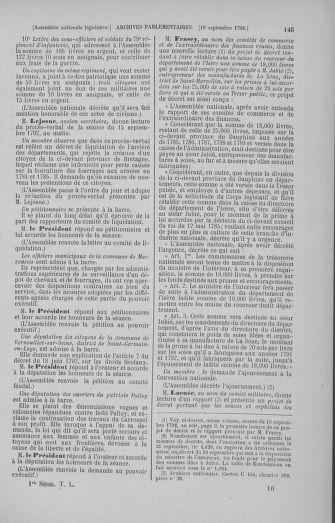 Tome 50 : Du 15 au 21 septembre 1792 - page 145