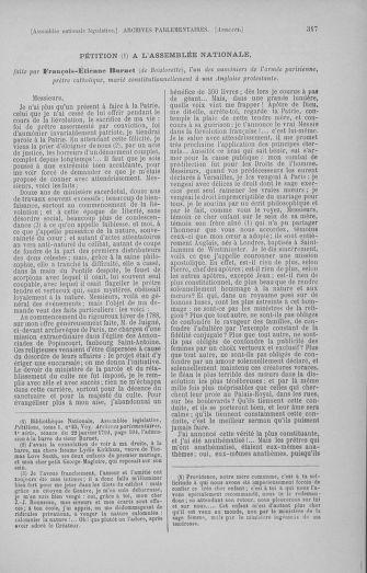 Tome 50 : Du 15 au 21 septembre 1792 - page 317
