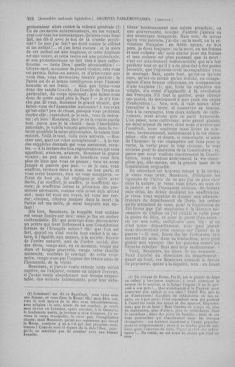 Tome 50 : Du 15 au 21 septembre 1792 - page 318