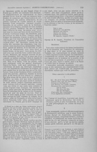 Tome 50 : Du 15 au 21 septembre 1792 - page 319