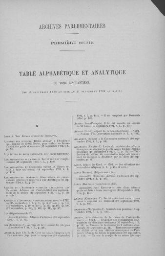 Tome 50 : Du 15 au 21 septembre 1792 - page ..