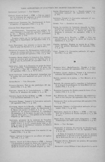 Tome 50 : Du 15 au 21 septembre 1792 - page 765