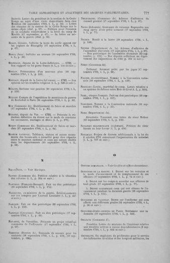 Tome 50 : Du 15 au 21 septembre 1792 - page 777