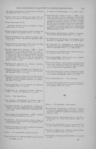 Tome 50 : Du 15 au 21 septembre 1792 - page 785