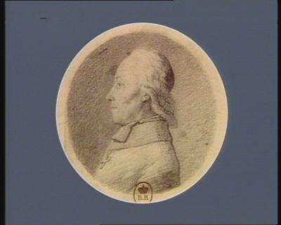Jean Baptiste Auguste de Villoutrès de Faye évêque d'Oléron député du païs de Soule à l'Assemblée nationale né au chateau de Faye, diocèse de Limoges le 3 9.bre 1739 : [dessin]