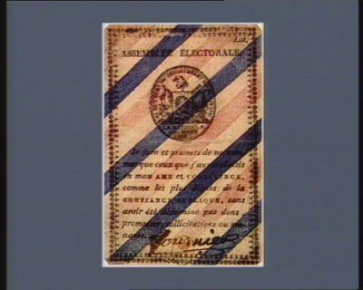 Assemblée électorale électeurs du département de Paris 1791... : [estampe]