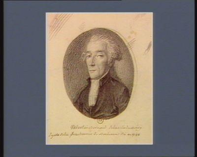 Valentin Bernard de la ville de Bourg depute de la senechaussée de Bordeaux Né en 1748 : [dessin]