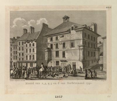 Moord van 2, 3, 4, 5 en 6 van Herfstmaand 1792 [estampe]
