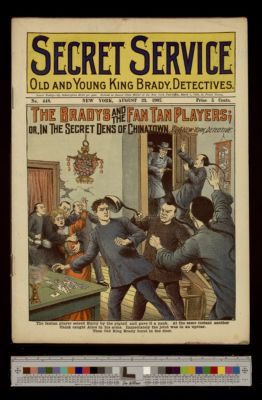 The Bradys and the Fan Tan Players; or, In the Secret Dens of Chinatown
