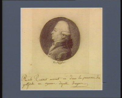 Roch Renaut avocat né dans la paroisse de Golfech en Agenois député d'Agen : [dessin]