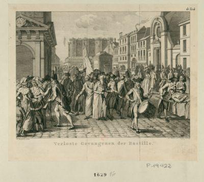 Verloste Gevangenen der Bastille [estampe]