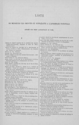 Tome 8 : Du 5 mai 1789 au 15 septembre 1789 - page XXXV