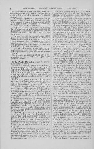 Tome 8 : Du 5 mai 1789 au 15 septembre 1789 - page 2