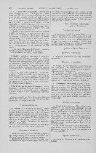 Tome 8 : Du 5 mai 1789 au 15 septembre 1789 - page 172