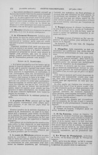 Tome 8 : Du 5 mai 1789 au 15 septembre 1789 - page 176