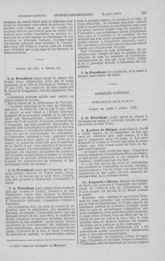 Tome 8 : Du 5 mai 1789 au 15 septembre 1789 - page 181