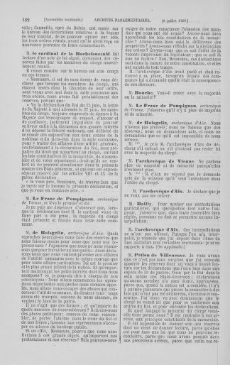 Tome 8 : Du 5 mai 1789 au 15 septembre 1789 - page 182