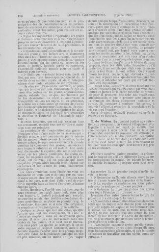 Tome 8 : Du 5 mai 1789 au 15 septembre 1789 - page 196