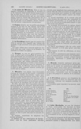 Tome 8 : Du 5 mai 1789 au 15 septembre 1789 - page 198