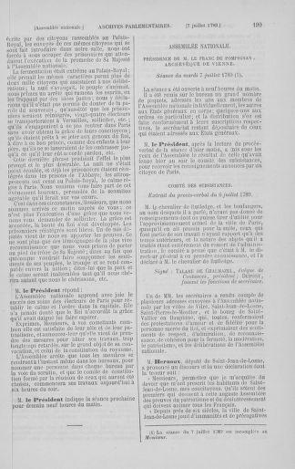 Tome 8 : Du 5 mai 1789 au 15 septembre 1789 - page 199