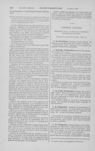 Tome 8 : Du 5 mai 1789 au 15 septembre 1789 - page 206