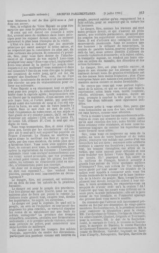 Tome 8 : Du 5 mai 1789 au 15 septembre 1789 - page 213