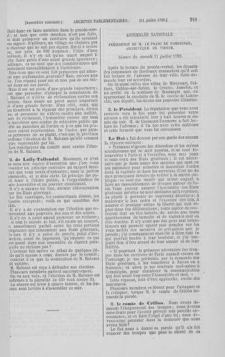 Tome 8 : Du 5 mai 1789 au 15 septembre 1789 - page 219