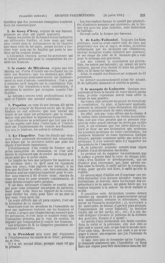 Tome 8 : Du 5 mai 1789 au 15 septembre 1789 - page 221