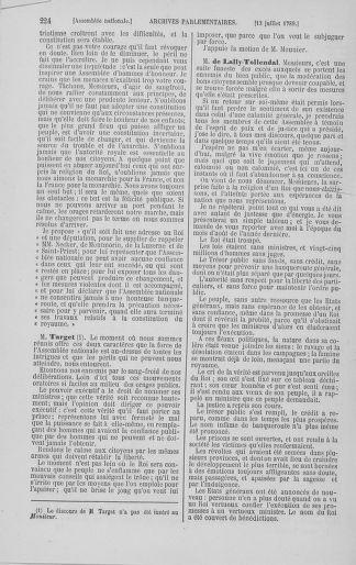 Tome 8 : Du 5 mai 1789 au 15 septembre 1789 - page 224