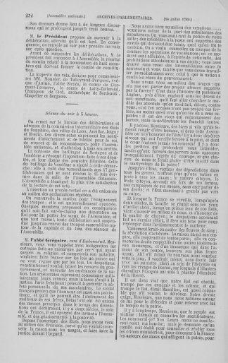Tome 8 : Du 5 mai 1789 au 15 septembre 1789 - page 232