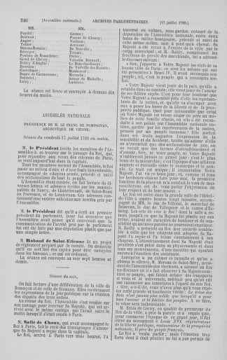 Tome 8 : Du 5 mai 1789 au 15 septembre 1789 - page 246